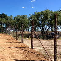 Protect your investment with a Texas Hill Country Fence Builder that understands the land.
